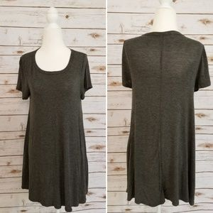 Acemi T shirt Dress - Grey